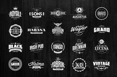 Check out 54 Badges & Logos Collection by Easybrandz on Creative Market