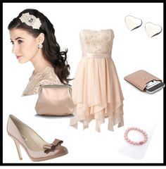 """Elegant romance"" by cocodesign-1 on Polyvore"