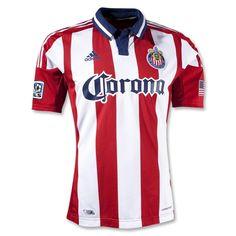 e6b11045f Chivas USA 2012 Authentic Home Jersey