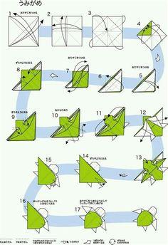 Origami Design, Origami Dog, Instruções Origami, Origami Ball, Origami And Kirigami, Paper Crafts Origami, Paper Crafting, Origami Ideas, Origami Bookmark
