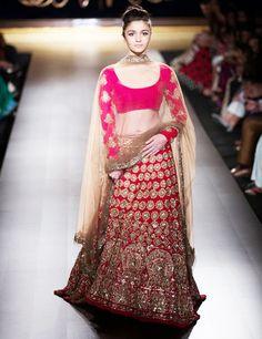 Manish Malhotra Wedding Bridal Dresses 2016