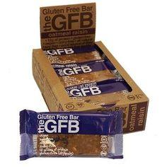 The GFB Oatmeal Raisin Bar Gluten Free (12x2.05Oz)