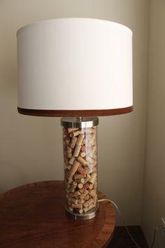 9 Best Lamps Images Wine Corks Buffet Lamps Table Lamps