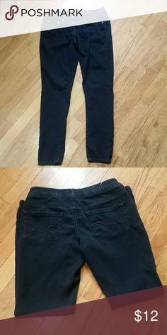 """Black Jeggings So black jeggings (got from Kohl's), 28"""" inseam. Pants Skinny"""