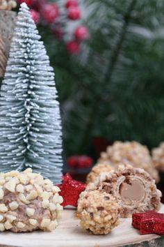 """Es wird nussig, es wird süß, es wird italienisch, es wird unfassbar """"delizioso""""! Zum anstehenden zweiten Advent habe ich ein neues Plätzchen-Rezept für Euch: #GiOTTO-#Makronen. Lasst es Euch schmecken. #Annibackt #Nussmakronen #Weihnachtsbäckerei #GiottoKekse #GiottoPlätzchen #Haselnussmakronen Cakepops, Haselnussmakronen, Cupcakes, Table Decorations, Biscuits, Cantuccini Recipe, Cupcake Cakes, Cake Pop, Cake Pops"""