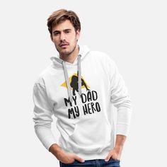 Vater Männer Premium Hoodie Sweat Shirt, T Shirt Sport, Tee Shirt, T Shirt Designs, He For She Campaign, Frankenstein, T Shirt Baseball, Equality Shirt, Cowls