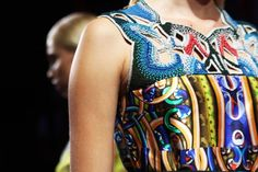 Print in beads - Peter Pilotto