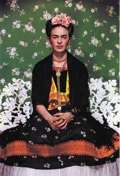 Intente Ahogar mis Dolores, Pero ellos aprendieron a nadar. Frida Kahlo, 105 años una mujer muy fuerte y luchadora.