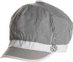 AN1225 Women's Spring Summer Narrow Stripes Rhinestone Flower Cabbie Hats - Black AN1225 http://www.amazon.com/dp/B007ROV4VQ/ref=cm_sw_r_pi_dp_DcGRwb04FYZ6T