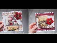 Fast & Simple Christmas Cards Series #2 & #3