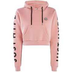 Womens **Dusty Pink Cropped Cut Out Hoodie by Hype - Pink, Pink Crop Top Hoodie, Cut Out Hoodie, Crop Top Sweater, Cropped Hoodie, Cropped Tops, Girls Fashion Clothes, Teen Fashion Outfits, Trendy Fashion, Casual Outfits