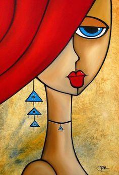 Abstract nude painting Original Modern pop Art Contemporary canvas by Fidostudio - Deeper Love Arte Pop, Pop Art, Fine Art Amerika, Abstract Faces, Abstract Art, African Art, Painting Inspiration, Unique Art, Modern Art