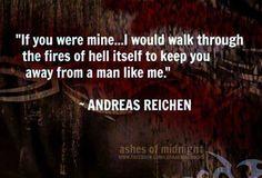 Andreas | Lara Adrian | The Midnight Breed | Vampire Romance Series