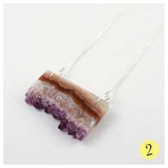 Wolf & Moon Stalactite Necklace