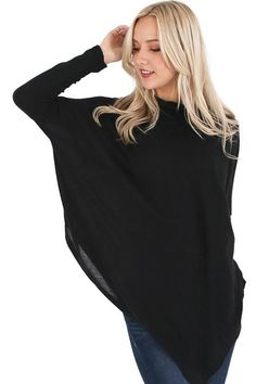 Georgia Poncho Top