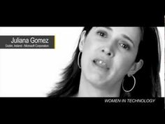 Women in IT: Juliana Gomez Microsoft.... who is next?