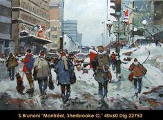 Montreal, Sherbrooke East Montreal, Explore, Painting, Painters, Painting Art, Paintings, Paint, Draw, Exploring