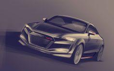 Audi TT Facelift proposal by Gaurang Nagre. — Transportation Design programme @ UID, Umeå, Sweden.