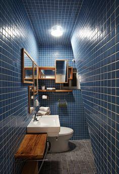 New bathroom lighting wood sinks 55 Ideas Neutral Bathroom Tile, Gray Shower Tile, Bathroom Wall Decor, Bathroom Colors, Bathroom Interior, Bathroom Lighting, Bathroom Window Dressing, Beige Cabinets, Wood Sink