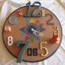 Functional Found Art Assemblage- Clock. There is an article that goes along with this handmade clock.