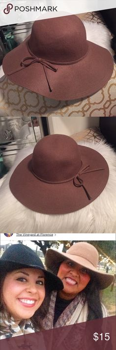 Light brown wool hat Light brown wool hat only wore once Accessories Hats
