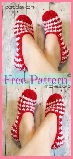 38 ideas crochet shoes women slippers free pattern for 2019 Crochet Gloves, Knitted Slippers, Crochet Slippers, Crochet Yarn, Crochet Stitches, Crochet Patterns Free Women, Free Crochet Slipper Patterns, Knit Slippers Free Pattern, Crochet Winter