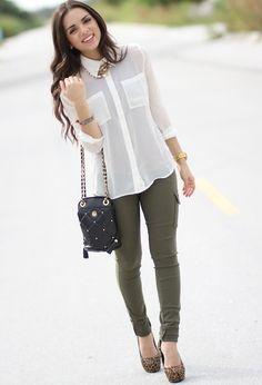 Kourtney k. inspired  , Forever21 in Shirt / Blouses, Express in Pants, vintage  in Bags, Aldo in Heels / Wedges