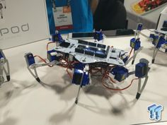 This dancing spider-robot will teach you programming: This dancing spider-robot will teach you programming:…