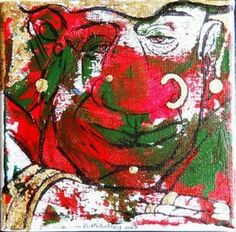 """Boertjie"", W: x H: x D: Mixed Medium on Canvas My Canvas, Mixed Media Canvas, Figurative, Outline, South Africa, Fine Art, Contemporary, Medium, Artwork"