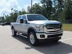 Love this truck! Going to get a 4x2 with diesel engine to tow with. 2012 Ford F250 Super Duty Lariat Crew Cab 4x4 Exterior