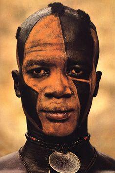 Africa | Masakin Quisar Nuba, the Nuba of Kau. Sudan. ca. 1962 - 1977. | © Leni Riefenstahl.