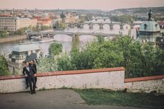 Graham & Wayne post wedding portrait session in Prague by American Photographer Kurt Vinion based in Prague: www.KurtVinion.com