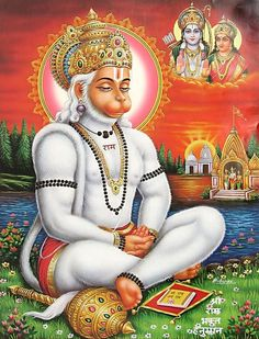 Lord Hanuman is an ardent devotee of Lord Rama. Nothing is impossible when there is Lord Hanuman's blessing.