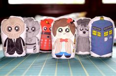 Doctor Who plushes