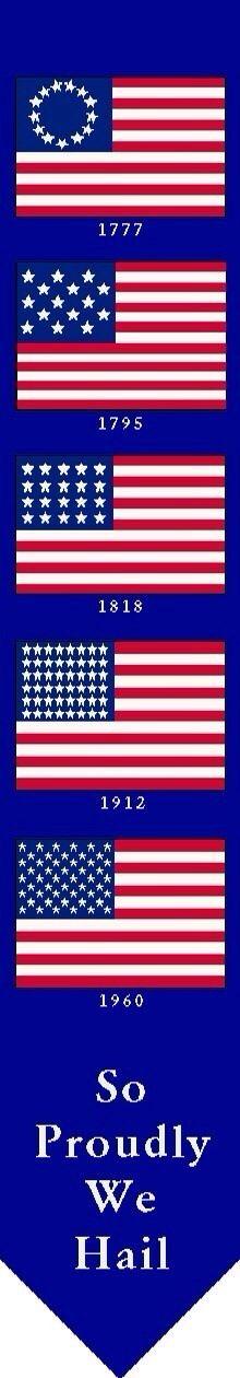 Usa american flag history of american usa flag for History of american flags