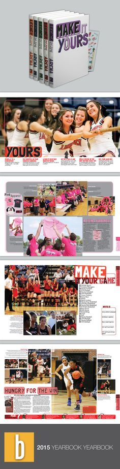 I really like this idea where each individual student can design their own yearbook the way they want. -Kassidy Daniels