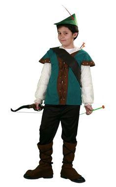 Tu mejor disfraz de robin hood infantil.Este comodísimo traje es perfecto para carnavales, espectáculos, cumpleaños y tambien para las fiesta de los colegios como fin de curso o cualquier otras actividades.