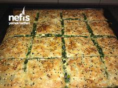 Ispanaklı Müthiş Böreğim Turkish Recipes, Ethnic Recipes, Breakfast Items, Homemade Beauty Products, Quiche, Zucchini, Brunch, Food And Drink, Health Fitness