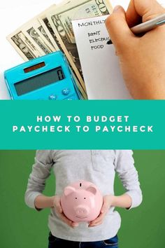 Sticking to a weekly or monthly budget does not always work for everyone. For those people, learning how to budget paycheck to paycheck can often be the answer. Making A Budget, Create A Budget, Retirement Planning, Financial Planning, Living Within Your Means, Household Expenses, Multiple Streams Of Income, Monthly Budget, Frugal Living Tips