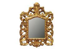 GORGEOUS Saville Mirror, Gold on OneKingsLane.com