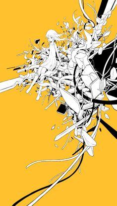 hebitsukai works - likeit Japanese Pop Art, Dark Fantasy Art, Fan Art, Pretty Art, Art Pictures, Graphic Illustration, Cover Art, Art Inspo, Amazing Art