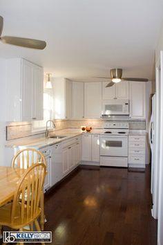 Rococo lg viatera quartz kitchen lg viatera rococo for Idea interior cierra
