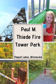 Minnesota Yogini - Pequot Lakes, Historic Fire Tower - Minnesota Yogini