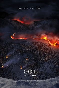 affiche game of thrones HBO  OH my gods oh my goddesses !!!!