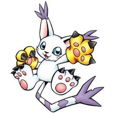 Gatomon (Ringless) // #anime #gatomon #digitalmonsters #digimon