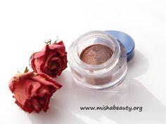 Misha Beauty - přírodní kosmetika a jiné DIY projekty : Duo oční stíny - ala Marzipan a Black Forest Truff...