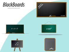 Vector Blackboard Chalkboard Background, Vector Free Download, Blackboards, Free Images, Back To School, Templates, Free Vector Downloads, Stencils, Vorlage