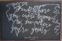 Chalkboards + Sings