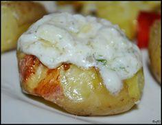 Pečené zemiaky s bryndzou