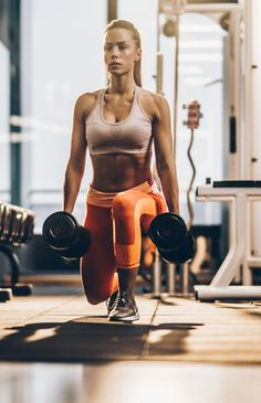 Strong and Lean With the 55 Best Dumbbell Moves (Plus 20 Videos Using Them!) Get Strong and Lean With the 55 Best Dumbbell Moves (Plus 20 Videos Using Them!)Get Strong and Lean With the 55 Best Dumbbell Moves (Plus 20 Videos Using Them! Body Fitness, Fitness Del Yoga, Workout Fitness, Gym Body, Fitness Women, Female Fitness, Squats Fitness, Woman Fitness, Funny Fitness